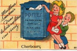 CPSM  50- MANCHE-CHERBOURG- MEILLEUR SOUVENIR--EDITION GABY - Cherbourg