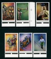 UZBEKISTAN - 1999 CIRCUS PERFORMERS SET (6V) FINE MNH ** - Uzbekistan