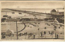 Lansdowne Publication Postcard, Pier & Boating Pool, Southend-on-Sea, LP676 - Southend, Westcliff & Leigh