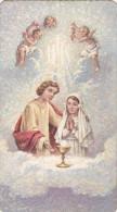 Devotieprent - Mosaico 71-met Engelen - Images Religieuses