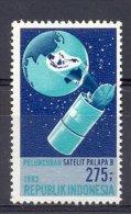 Mgm1157 PALAPA-B TELECOMMUNICATIESATELLIET LANCING TELECOMMUNICATIONSATELLITE BY SPACE SHUTTLE INDONESIA 1983 PF/MNH - Telecom