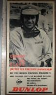 PUB PUBLICITE DUNLOP JIM CLARK - Collections