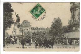 CPA PARIS 3° ARRONDISSEMENT - Place De La République Hôtel Moderne Et Tue Turbigo - Paris (03)