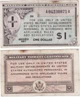 USA MPC - 1 Dollar s. 461 Fine 39 1946 Lemberg-Zp