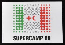 ITALIA, CASTIGLIONE DELLE STIVIERE - SUPERCAMP ---  CROCE ROSSA - Croix-Rouge