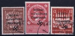German Militär Verwaltung Dänemark  Cancelled - 1913-47 (Christian X)