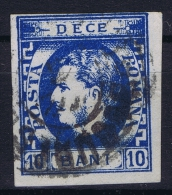 Romenia, 1869  Mi Nr 22 Used , - 1858-1880 Moldavië & Prinsdom