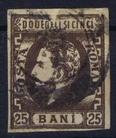 Romenia, 1871 Mi Nr 28 Used , - 1858-1880 Moldavië & Prinsdom