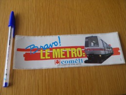 Autocollant - Transports - Métro - Lille - Adesivi