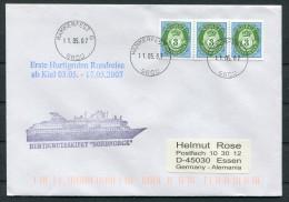 2005 Norway Hammerfest Nordnorge Ship Cover - Briefe U. Dokumente
