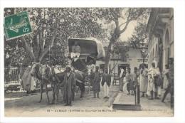 L1617 -  Aumale Arrivée Du Courrier De Bou-Saada - Algérie