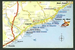 Postales Turisticas Firestone. Ref. A - 53. Nueva. - Mapas