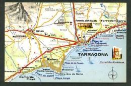 Postales Turisticas Firestone. Ref. A - 52. Nueva. - Mapas