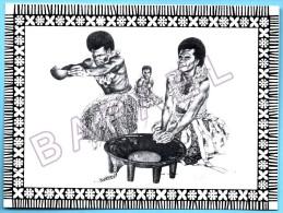 Îles Fidji - Cérémonie Kava (Traditions Religieuses Et Culturelles) (Dessin De Bill Bates) - Other Illustrators