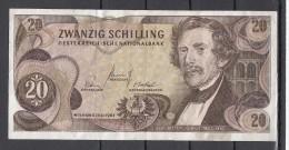 Oostenrijk 20 Shilling  Nr L283965k   Dd 2-7-1967 - Oostenrijk