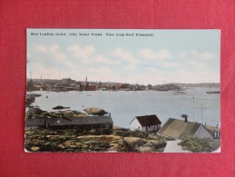 Connecticut> New London City Water Front  View From Fort Trumbull  Ref 1447 - United States