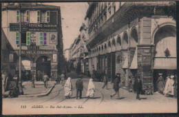 ALGER- RUE BAB AZOUNE - Alger