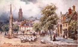 Henry Wimbush  -  The Cross & St. Mary's Church At Banbury In Oxfordshire   -    7632 - Wimbush