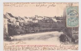 (RECTO / VERSO) LACELLE DUNOISE EN 1905 - N° 157 - BARRAGE SUR LA CREUSE - France