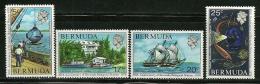 "Bermuda      ""Biological Station""    Set     SC# 333-36   MNH** - Bermuda"