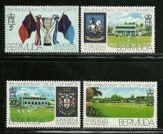 "Bermuda      ""Cricket Cup Match""    Set     SC# 343-46   MNH** - Bermuda"