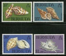 "Bermuda      ""Conus Species""    Set     SC# 419-22     MNH** - Bermuda"