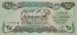 IRAK 25 DINARS 1990 UNC P 74