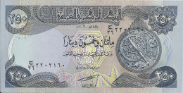 IRAQ 250 DINARS 2003 UNC P 91