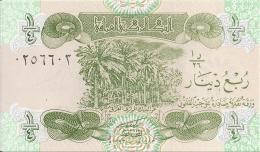 IRAK 1/4 DINAR 1993 UNC P 77
