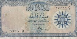 IRAK 1 DINAR ND1959 VF P 53 a