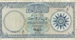 IRAK 1 DINAR ND1959 VF P 53 b
