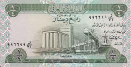 IRAQ 1/4 DINAR  ND1973  UNC P 61