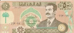IRAQ 50 DINARS 1991 XF P 75
