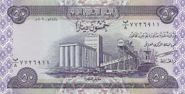 IRAK 50  DINARS 2003 UNC P 90