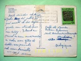 "Morocco 1978 Postcard ""Tanger"" To Belgium - Seal - Maroc (1956-...)"