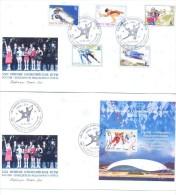 2014.  Transnistria, Russia - Winner Of Winter Olympic  Games Sochi, 2 FDC, Mint/** - Winter 2014: Sochi