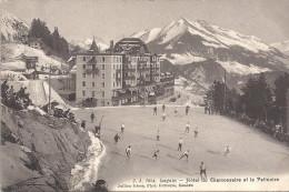 LEYSIN - SUISSE - Hotel Du Chamossaire Et La Patinoire - VAN - - GE Genève