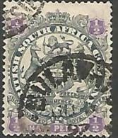 COLO BRITANIQUE / AFRIQUE DU SUD  N� 28 OBL TTB