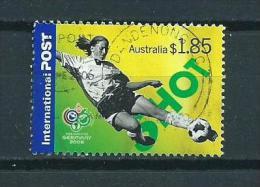 2006 Australia World Cup Soccer,football,sport $1,85 Used/gebruikt/oblitere - 2000-09 Elizabeth II