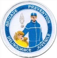 Gendarmerie- Brigade De Prévention De La Délinquance Juvénile MIGENNES Bleu Ciel - Police