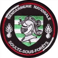 Gendarmerie- BT SOULTZ EN FORET - Police