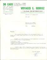 SAINT GHISLAIN  SIRAULT  VOYAGES E. SERRIEZ      17.01.1978 - Sports & Tourisme