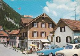 (Post Card Bill)Hotel Gotthard,Gurtnellen,Switzerland,L7. - UR Uri