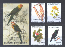 """S. Tomé E Principe 1139/42 + BL121 °  (used)   """" 1992 """" - Collections, Lots & Series"""