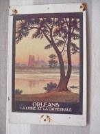 Orléans La Loire Et La Cathédrale - Illustratori & Fotografie