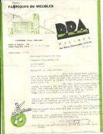 MALINES  DRA  Fabriques De Meubles    29.03.1941 - 1900 – 1949