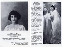 Santino SERVA DI DIO ANTONIETTA MEO (Nennolina) - PERFETTO G80 - Religion & Esotericism