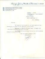 LEUZE VOYAGES JEAN MORELLE ET FILS Autobus Et Autocars  7.01.1980 - Sports & Tourisme
