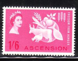 Ascension 1963 Freedom From Hunger Omnibus Mint - Ascensión