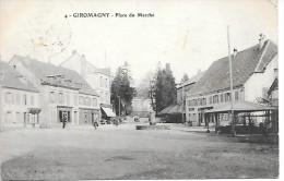 GIROMAGNY - Place Du Marché - Giromagny
